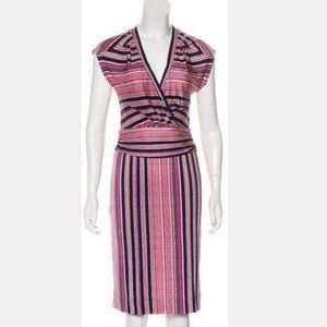 Tory Burch Silk Printed Multicolor Dress